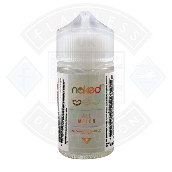 Naked - All Melon 0mg 50ml Shortfill