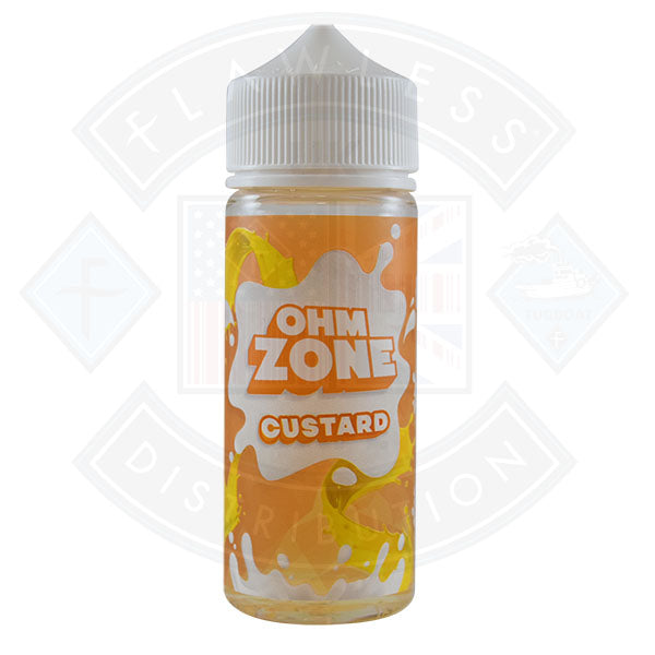 Ohm Zone Custard 0mg 100ml Shortfill