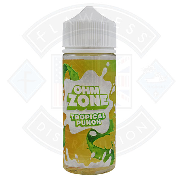 Ohm Zone Tropical Punch 0mg 100ml Shortfill