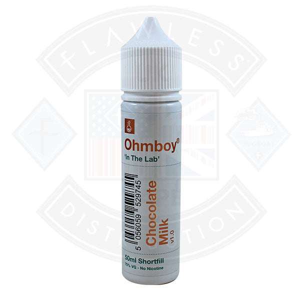 Ohm Boy 'In The Lab' Chocolate Milk v1.0 0mg 50ml Shortfill