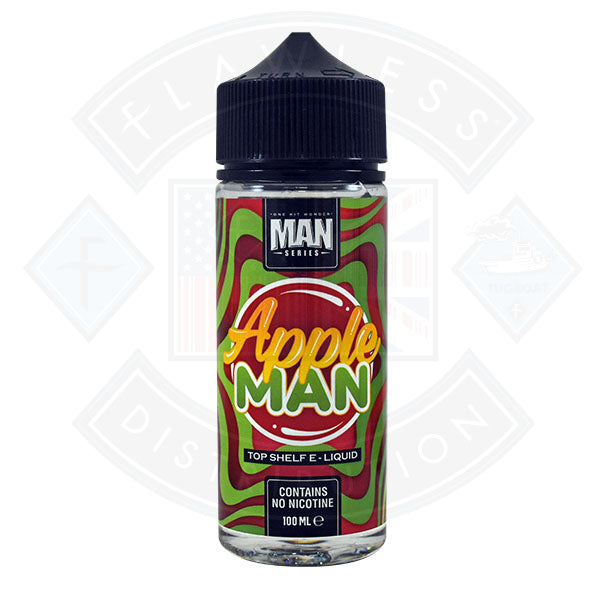One Hit Wonder Man Series Apple Man 0mg 100ml Shortfill
