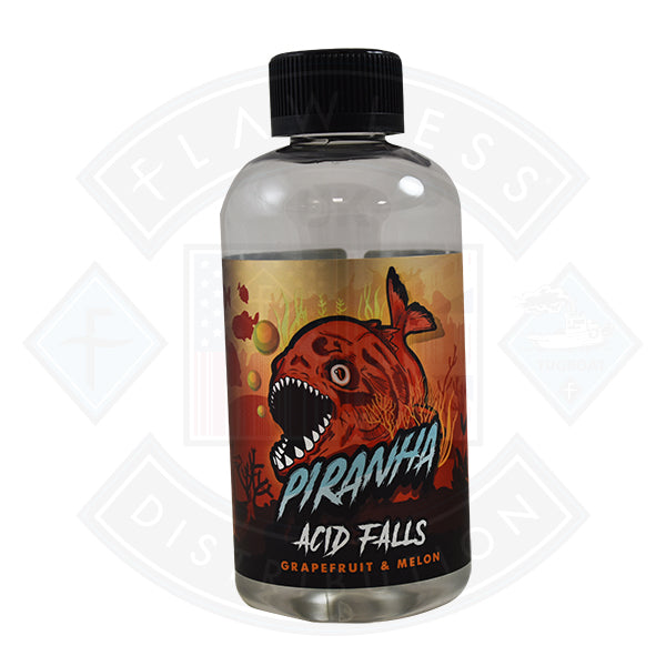 Piranha Acid Falls 0mg 200ml Shortfill E-Liquid