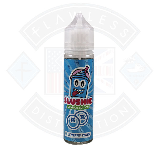 Slushie Original Edition Blueberry Slush 0mg 50ml Shortfill