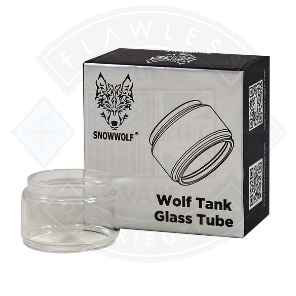 Snowwolf Wolf Tank Glass Tube