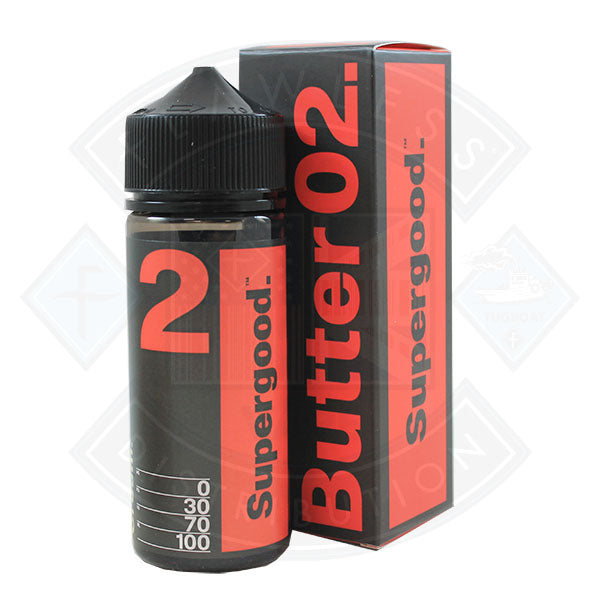 Supergood Butter 02 [Jam Biscuit, Meringue Cream] 0mg 100ml Shortfill E-Liquid