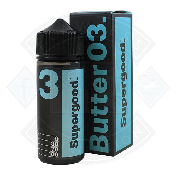 Supergood Butter 03 [Lemon Blueberry Sponge Cream] 0mg 100ml Shortfill E-Liquid