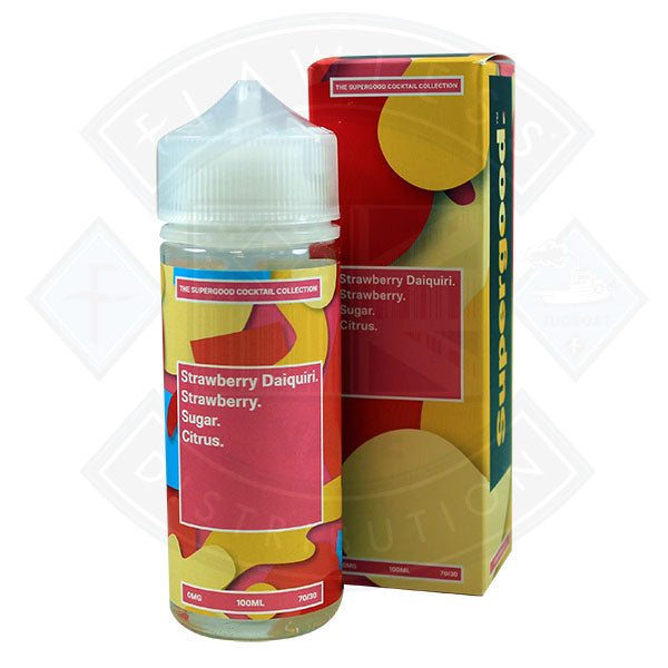 Supergood Strawberry Daiquiri 0mg 100ml Shortfill E-Liquid