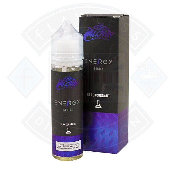 The Fog Clown Energy Series Blackcurrant 50ml Shortfill e-liquid