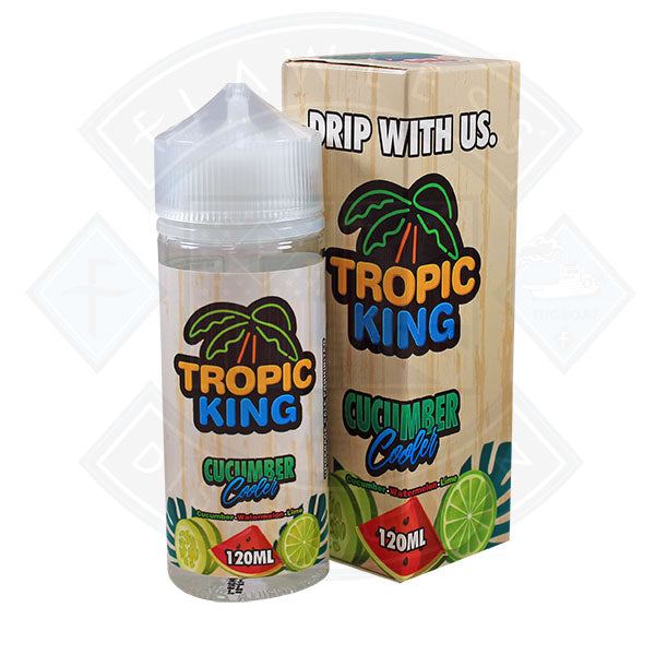 Tropic King Cucumber Cooler 100ml 0mg Shortfill E-liquid