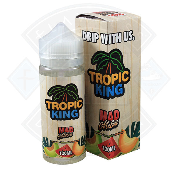 Tropic King Mad Melon 100ml 0mg Shortfill E-liquid