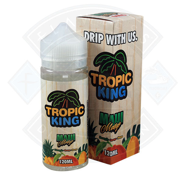 Tropic King Maui Mango 100ml 0mg Shortfill E-liquid