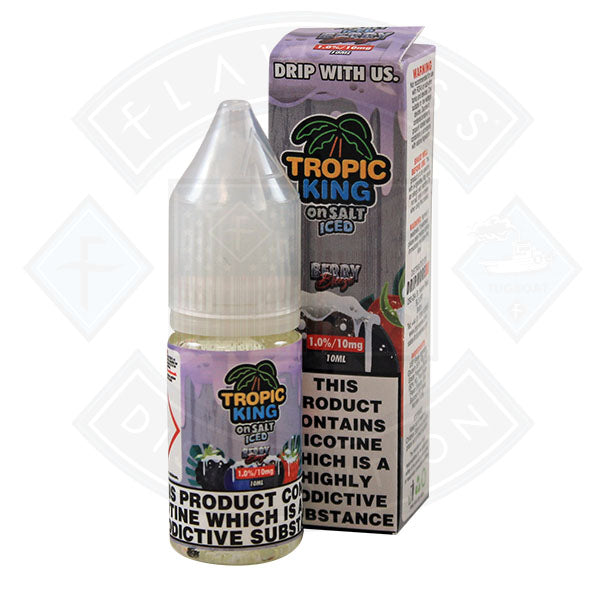 Tropic King Iced Salt Berry Breeze 10ml