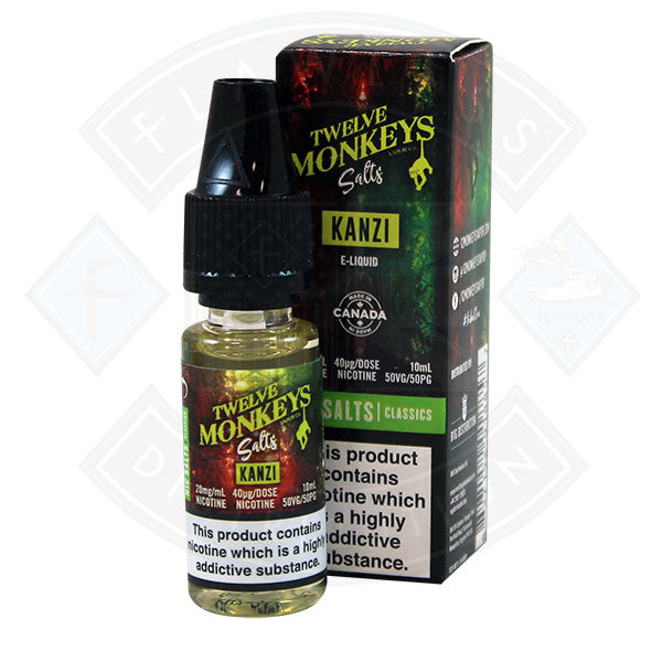 Twelve Monkeys Nic Salt - Kanzi 10ml