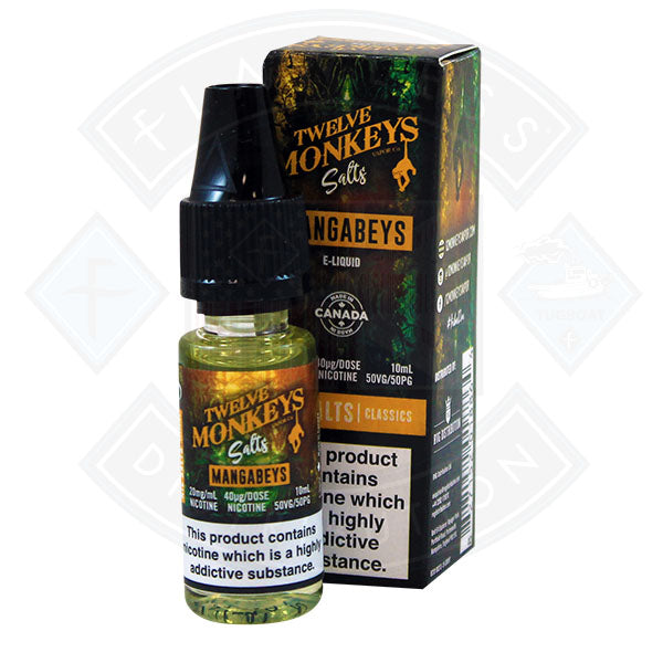 Twelve Monkeys Nic Salt - Mangabeys 10ml