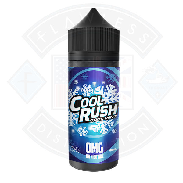Vaper Treats - Cool Rush 0mg 100ml Shortfill