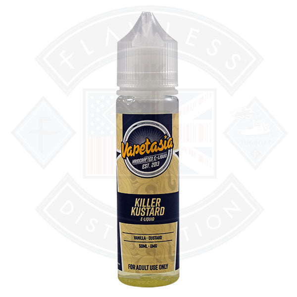 Vapetasia - Killer Kustard 50ml 0mg