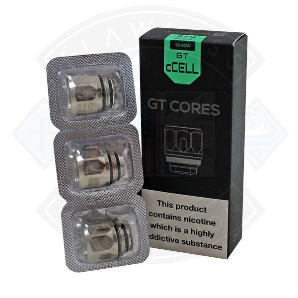 Vaporesso GT cCELL Cores 0.5ohm SS316L 15-40W 3pack