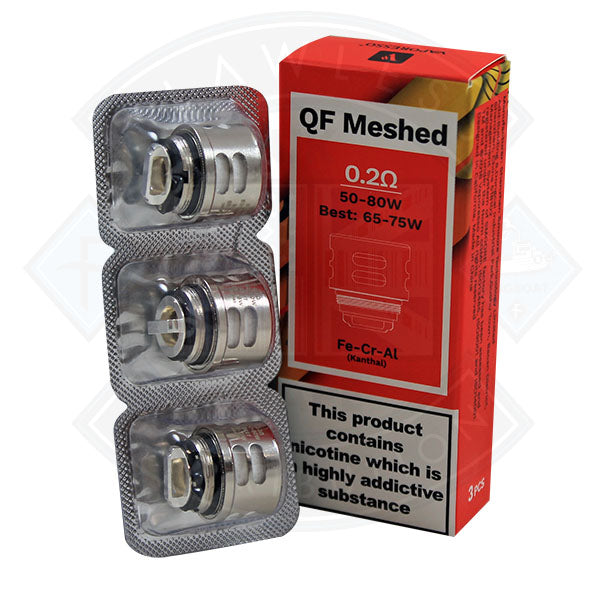 Vaporesso QF Meshed Coil 0.2 Ohm 3 pack