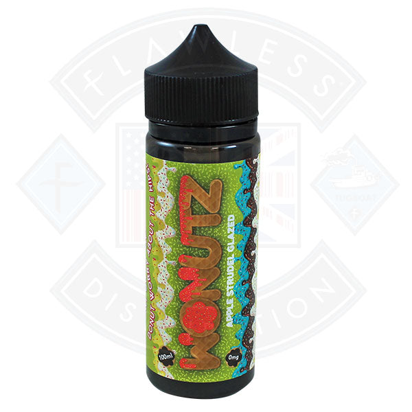 Wonutz Apple Strudel Glazed 0mg 100ml E-liquid