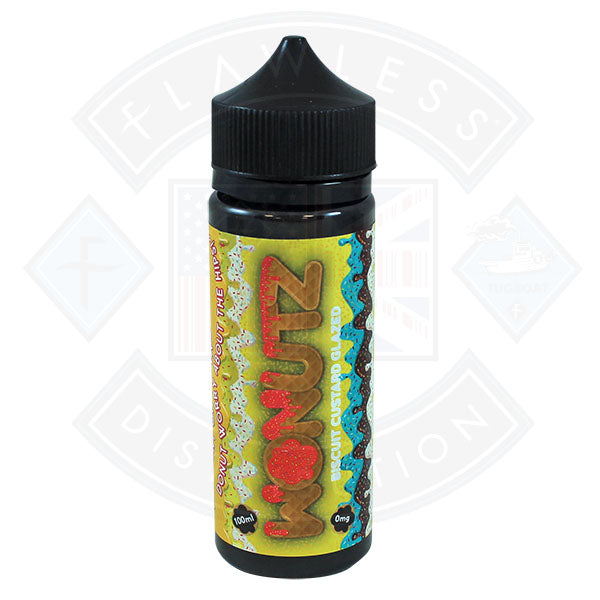 Wonutz Biscuit Custard Glazed 0mg 100ml E-liquid