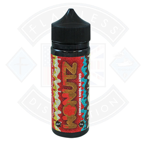 Wonutz Cinnamon Swirl Glazed 0mg 100ml E-liquid