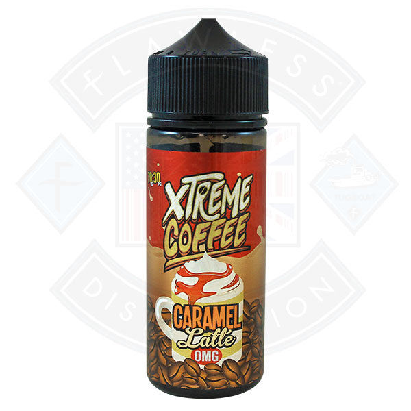 Xtreme Coffee - Caramel Latte 0mg 100ml Shortfill