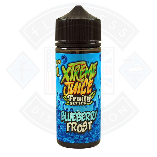 Xtreme Fruity Series - Blueberry Frost 0mg 100ml Shortfill