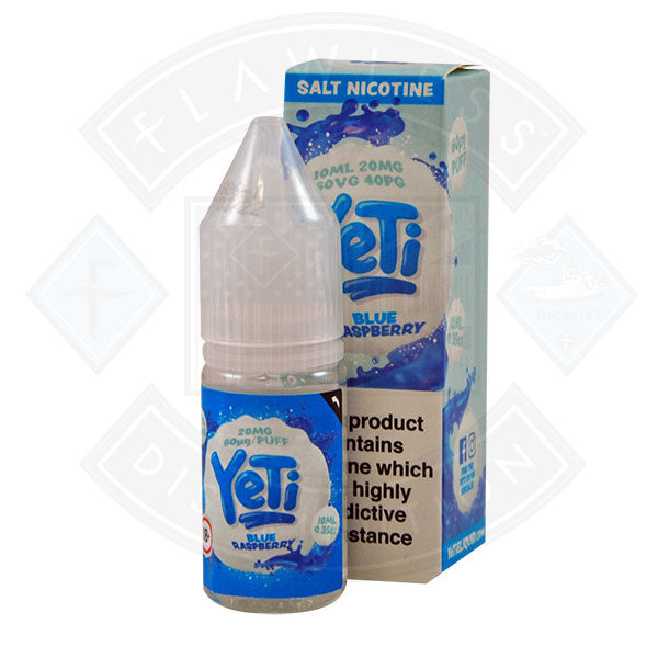 Yeti Salt - Blue Raspberry 10ml E Liquid