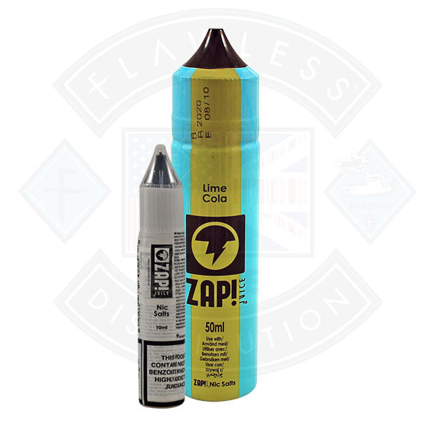 Zap! Lime Cola 50ml 0mg Shortfill E-Liquid