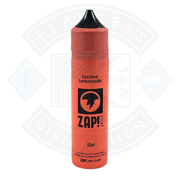 Zap! Lychee Lemonade 50ml 0mg Shortfill E-Liquid