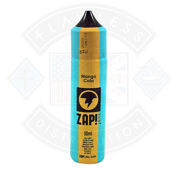 Zap! Mango Cola 50ml 0mg Shortfill E-Liquid
