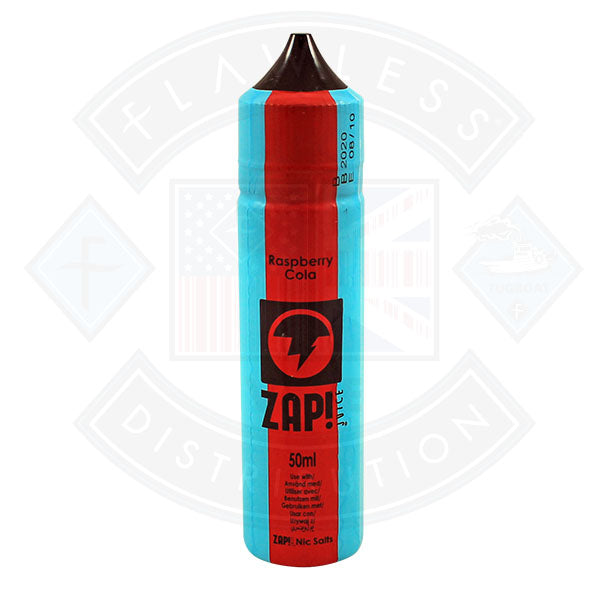 Zap! Raspberry Cola 50ml 0mg Shortfill E-Liquid