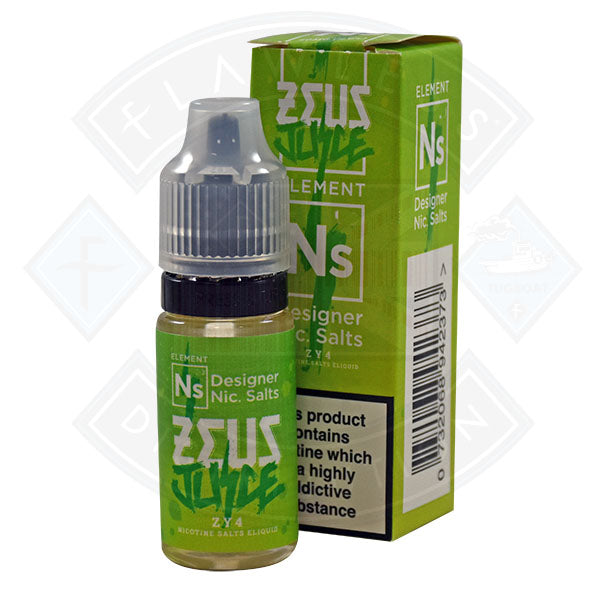Zeus Juice - Nic Salt ZY4 10ml 10mg E Liquid