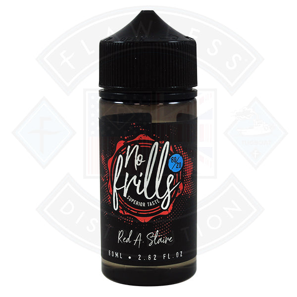 No Frills Red A Staire (Affair) 0mg 80ml Shortfill