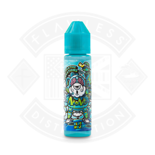 Momo Creative Creations Blue Moji 50ml 0mg Short Fill