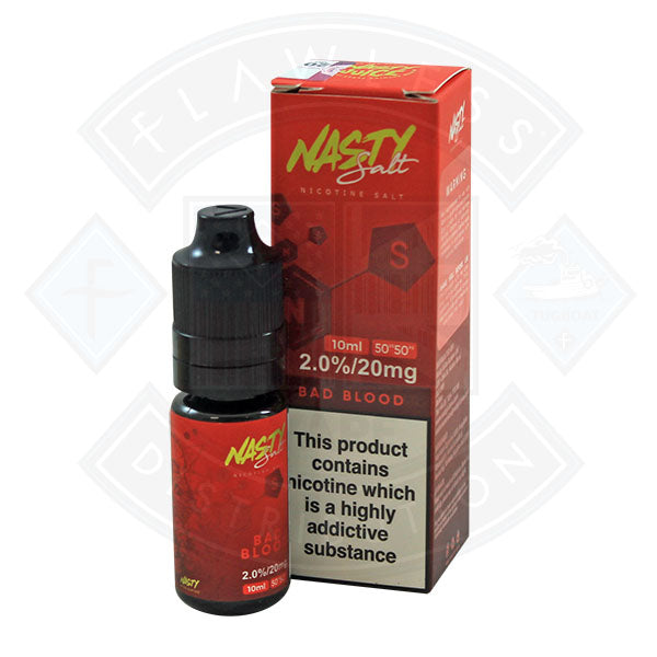 Nasty Juice Nasty Salt Bad Blood 20mg 10ml e-liquid