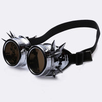Steampunk Sunglasses - Steampunk Spiked Welding Goggles
