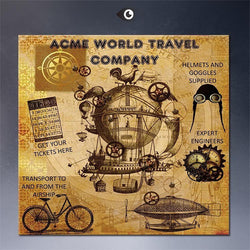 Steampunk Sunglasses - Acme World Travel Company