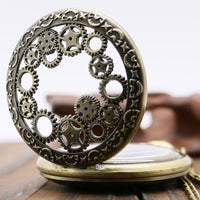 Steampunk Sunglasses - Hollow Clocks Pocket Watch