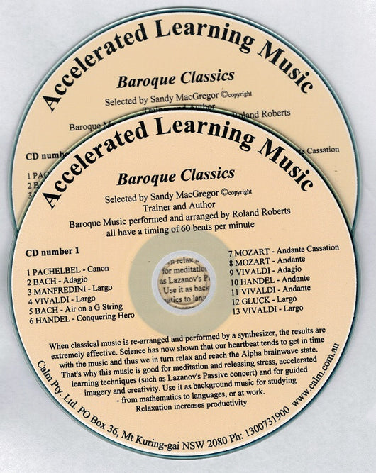Accelerated Learning Music - 2 CDs