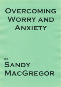 Overcoming Worry and Anxiety (eBook)