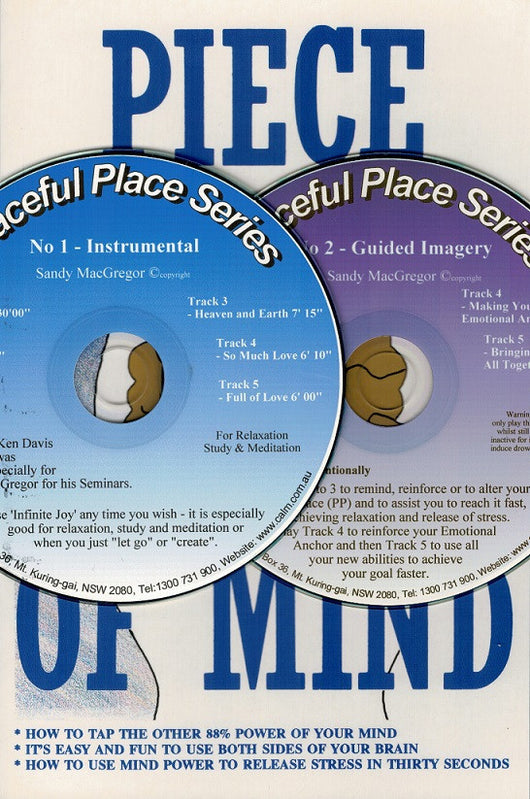 Piece of Mind (Book) with Audio (CDs)
