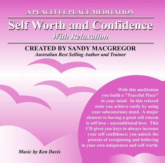 Peaceful Place Series No. 10 - Self Worth and Confidence (CD)