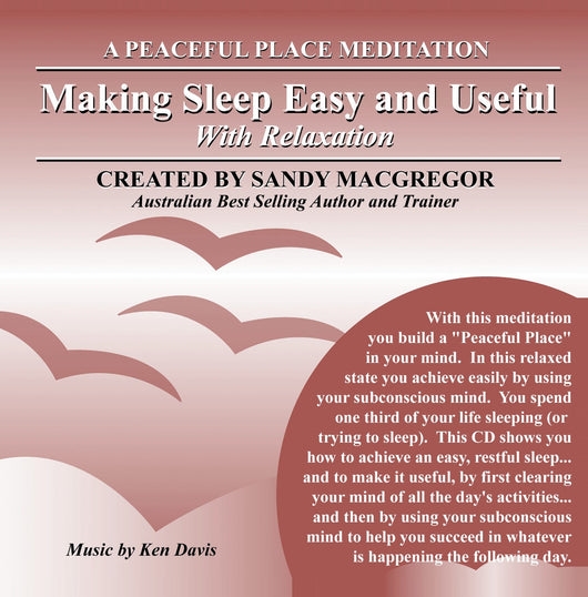 Peaceful Place Series No. 12 - Making Sleep Easy and Useful (CD)