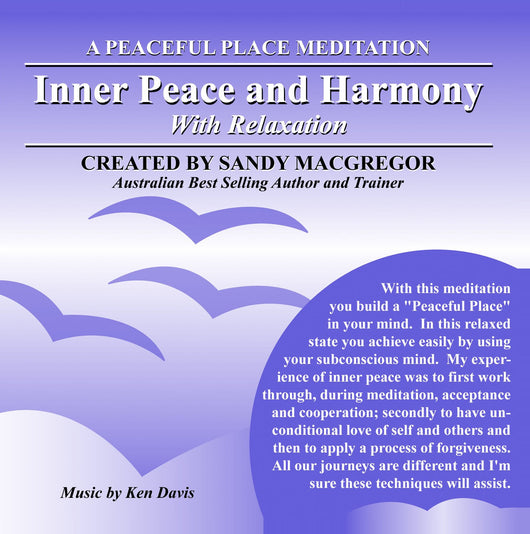 Peaceful Place Series No. 13 - Inner Peace and Harmony (CD)