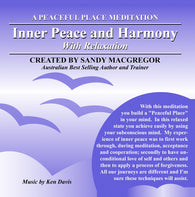 Peaceful Place Series No. 13 - Inner Peace and Harmony (Download)