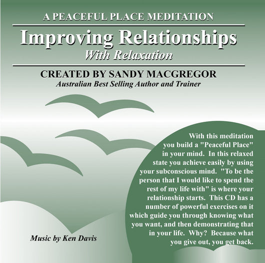 Peaceful Place Series No. 14 - Improving Relationships (CD)