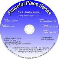 Peaceful Place Series No. 01 – Instrumental (CD)
