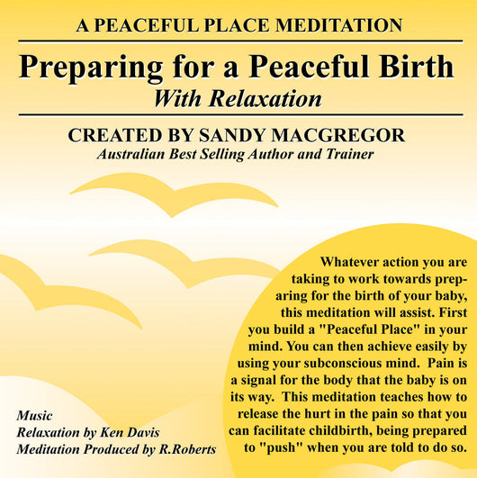 Peaceful Place Series No. 20 - Handling The Labour Of Childbirth (CD)