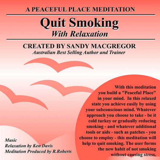 Peaceful Place Series No. 21 - Quit Smoking (CD)